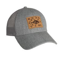 YETI Permit in Mangroves Patch Gray Trucker Hat