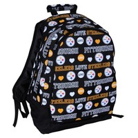 Pittsburgh Steelers Mural Love Backpack