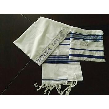Jewish Tallit Talit Prayer Shawl & Talis Bag