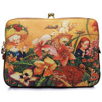 ROMWE | Romwe Oil Painting Angel City Print Bag, The Latest Street Fashion