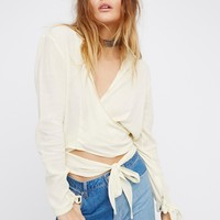 Free People Sparrow Song Wrap Top