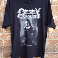 vintage Ozzy Osbourne The Last Bloody Shows t shirt