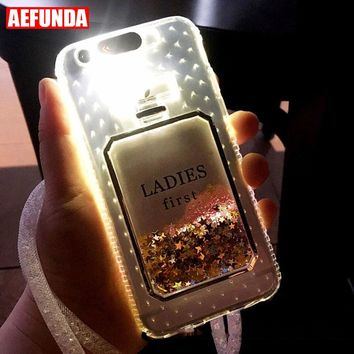 Luxury Bling Stars Dynamic Liquid Quicksand Clear Phone Case For d8d21085f