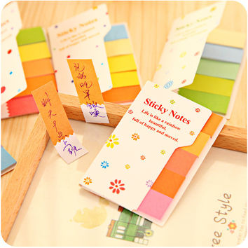 Korean Cute Creative Double Sided Lovely Stickers = 4877851460