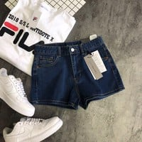 Calvin Klein Jeans Women Summer Fashion Denim shorts