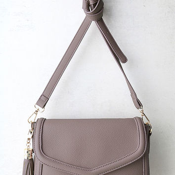 Perfect Grade Mauve Purse