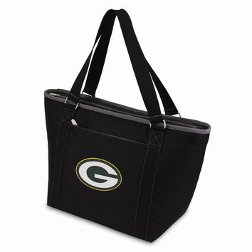 Green Bay Packers Insulated Black Cooler Tote