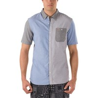 Vans Rusden Block Buttondown Shirt (Lunar Rock)