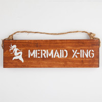 Mermaid Crossing Sign | Lighting & Decor