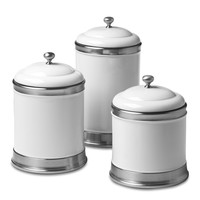 Williams Ceramic Canisters, Set of 3