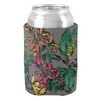 Wildflowers Pattern Can Cooler