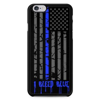Thin Blue Line Bleed Blue iPhone 6/6S Case