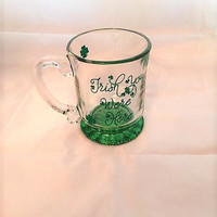 St. Patrick's Day Mug, Irish You Were Here, Green Party Cup, Coffee Gift, Clover Cup, Shamrock Mug, Irish Coffee Mug, St. Patrick's Day Gift