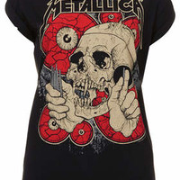 Metallica Tee By And Finally - Black