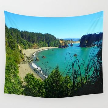 College Cove Wall Tapestry by Lindsey Jennings Photography