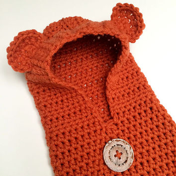 RESERVED for TEKLA - Hood, Cowl, Hat - Orange