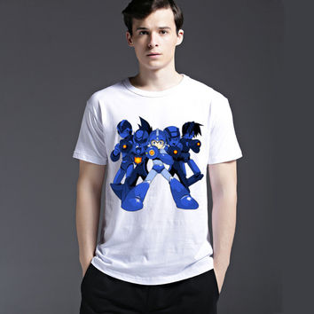 Summer Fashion Anime Cotton Cartoons Casual Men's Fashion Tee Short Sleeve T-shirts = 6450851139