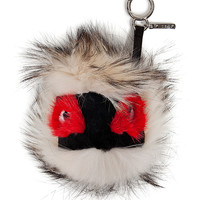 Fendi - Fox/Mink/Rabbit Fur Monster Key Chain