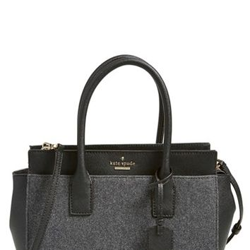 kate spade new york 'cameron street -small candace' satchel - Grey