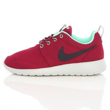 Nike Wmns Rosherun Raspberry Red/Purple Dynasty/Green Glow 511882-606