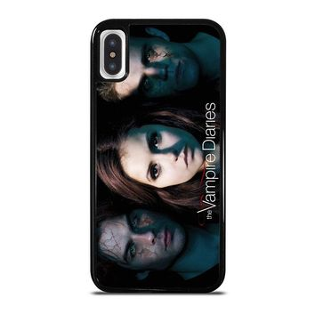 THE VAMPIRE DIARIES iPhone X Case Cover