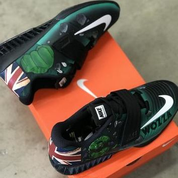 HULK SMASH!! The Nike Romaleos 3 Lifters To Match