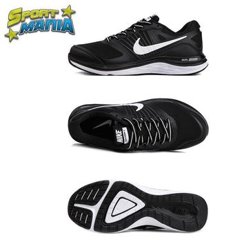 """Ready Stock"" NIKE DUAL FUSION X1 ""Black&White"" Men Sport Running shoes"