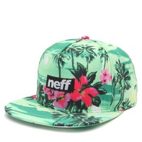 Neff Five O Snapback Hat - Mens Backpack - Green - One