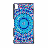 Flowers Sea Pattern Sony Xperia Z3 Case