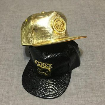 DCKL9 Good Quality Men No.23 Pyrex Jordans Style PU Leather Snapback Hiphop Baseball Cap Hat