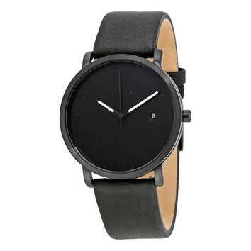 Skagen Hagen Black Dial Mens Watch SKW6308