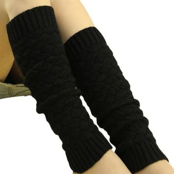 women winter boot socks knitted leg warmer scaly thigh high leg warmers four colors offered to you chaussette femme #654