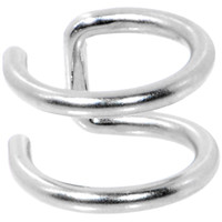 Illusion 2-Ring Non Pierced Clip On Closure Ring | Body Candy Body Jewelry