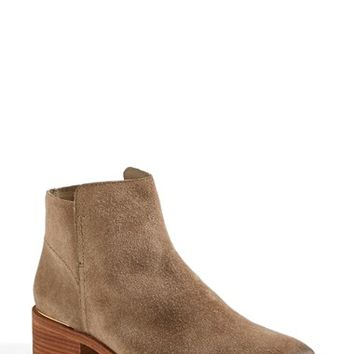 "Women's Tory Burch 'Riley' Suede Ankle Boot (Nordstrom Exclusive), 1 1/2"" heel"