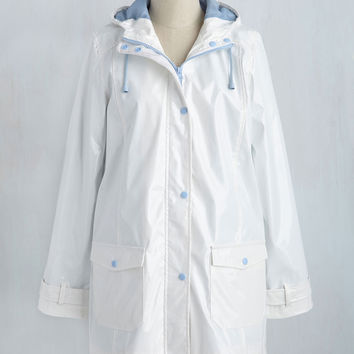 The Rains of the Operation Jacket in Cloud | Mod Retro Vintage Jackets | ModCloth.com