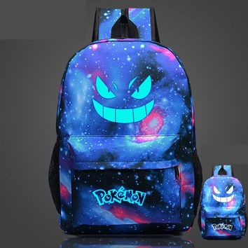 Luminous Pokemon Bag Gengar