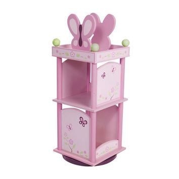 Levels of Discovery Sugar Plum Revolving Bookcase - LOD70005