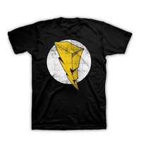 Power Rangers - Retro Bolt Adult T-Shirt