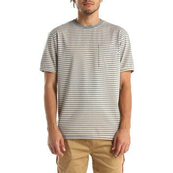 Publish Molan Tee in Blue Stripes