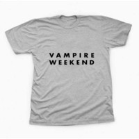 vampire weekend TShirt Tee Shirts For Men and women with variant color for Unisex Size