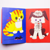 25% SALE Russian Soviet picture book toddler baby kids childrens cartoon comic animals pets toys