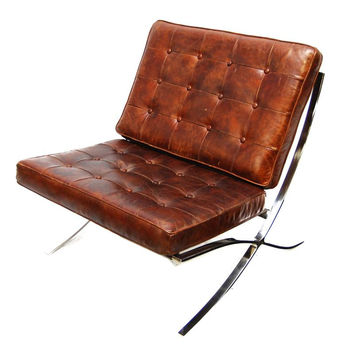 Gallery Chair | Vintage Cigar Brown
