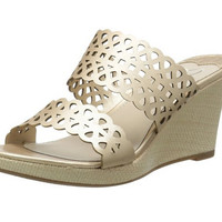 Madeline Cactus Champagne Wedges