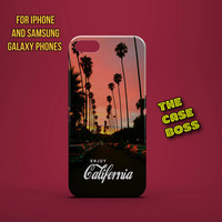 ENJOY CALIFORNIA Design Custom Phone Case for iPhone 6 6 Plus iPhone 5 5s 5c iphone 4 4s Samsung Galaxy S3 S4 S5 Note3 Note4 Fast!