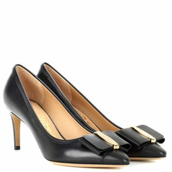 Edina 70 leather pumps