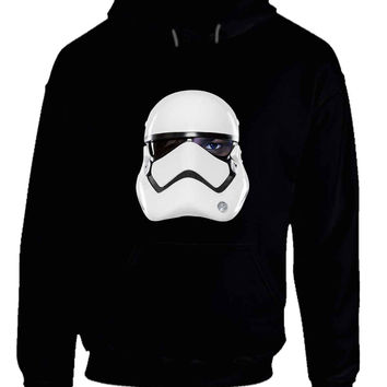 Star Wars The Force Awakens Fin As Stormtrooper Hoodie