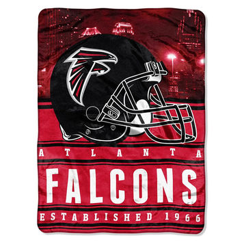 Atlanta Falcons NFL Silk Touch Throw (Stacked Series) (60inx80in)