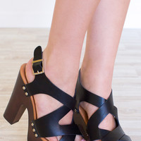 Catalina Heels - Black