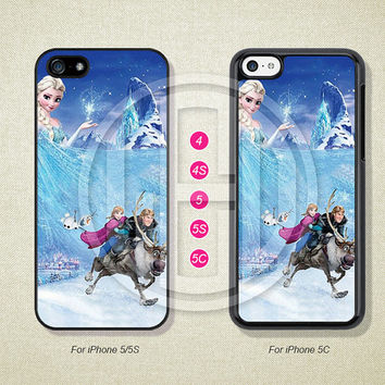 Disney Frozen Phone Cases, iPhone 5S Case, iPhone 5 Case, iPhone 5C Case, iPhone 4 case, iPhone 4S case, Case For iPhone --L51046