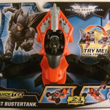 Batman The Dark Knight Rises Quick Tek Combat Bustertank Vehicle 2 in 1 Land Air